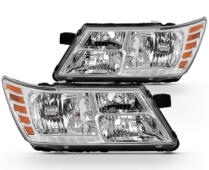 Dodge Journey 2009 2010 2011 2012 2013 2014 2015 2016 pair left & right headlights